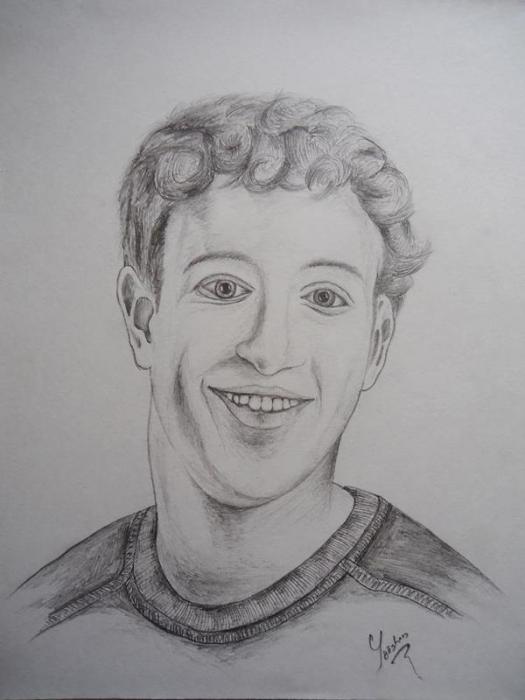 Mark Zuckerberg by yooshan